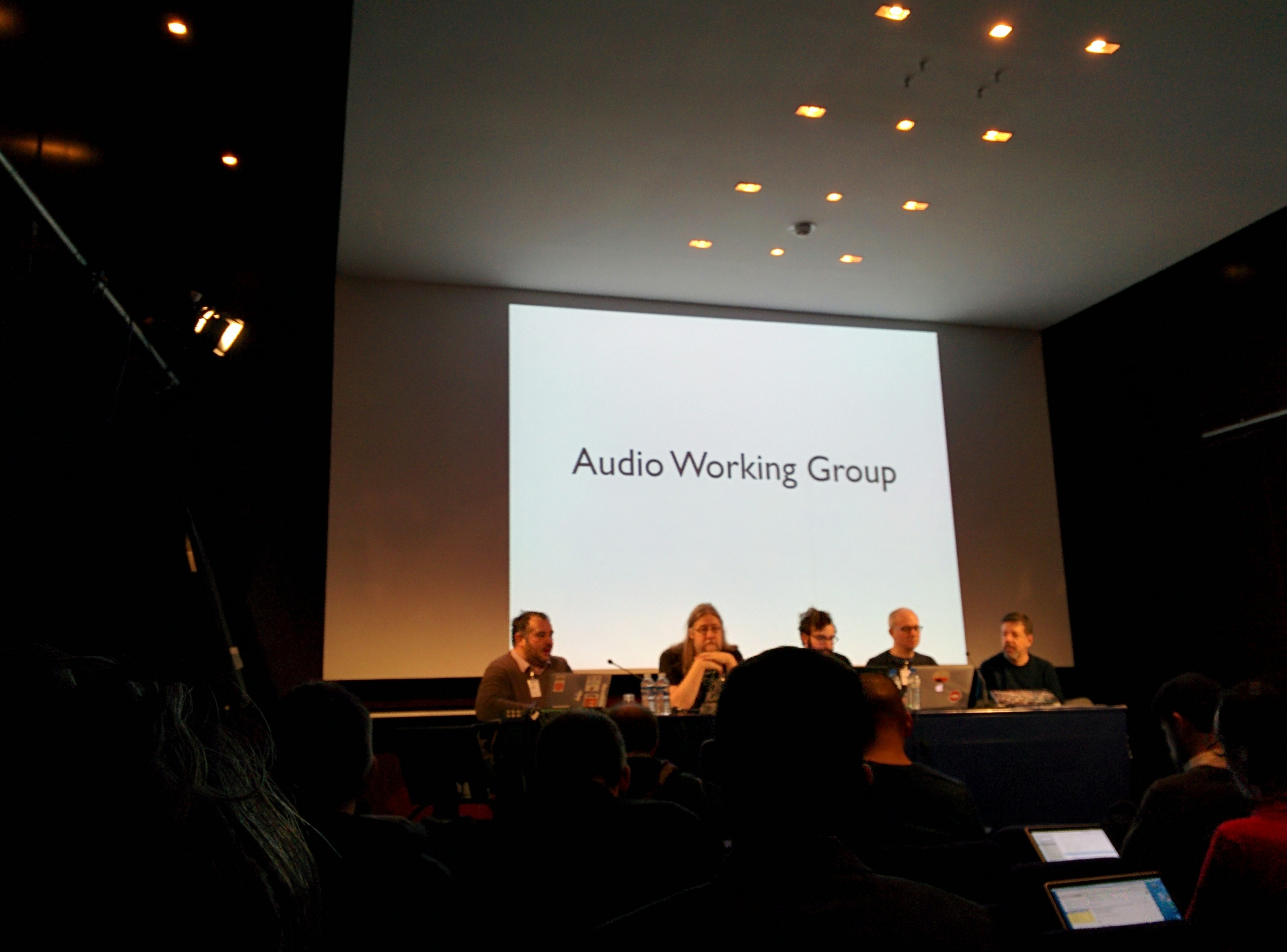 The great council of the Web audio API