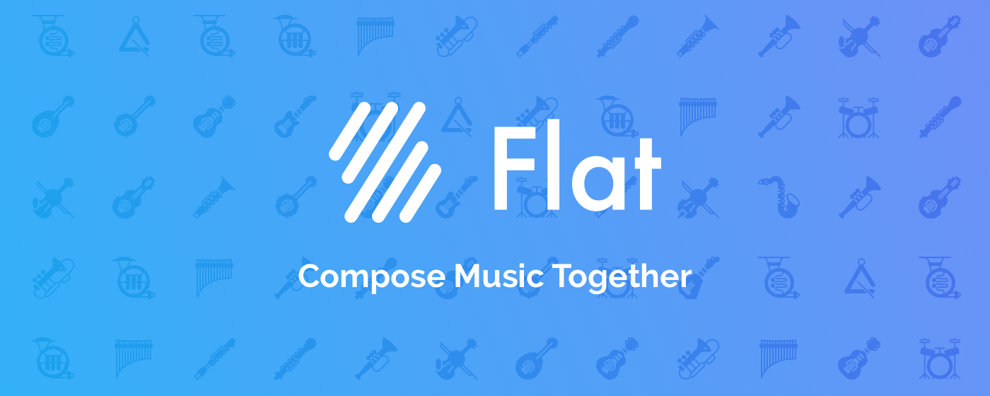 Collaborative Work In The Classroom ~ Flat collaborative sheet music compose with