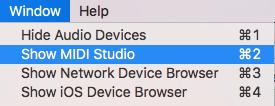 Select MIDI studio
