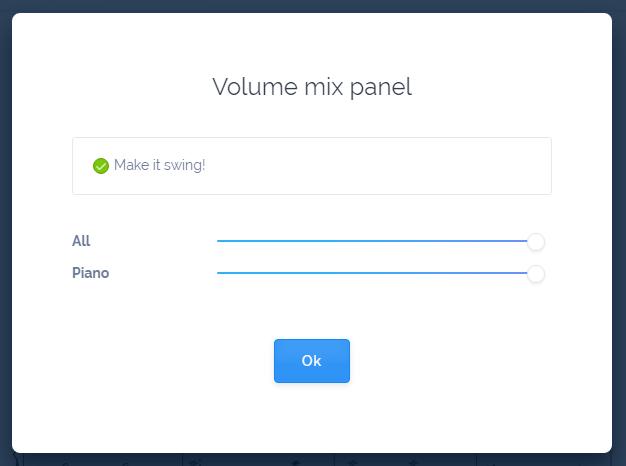 Mix Panel Swing