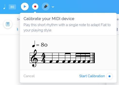 Live MIDI at Flat