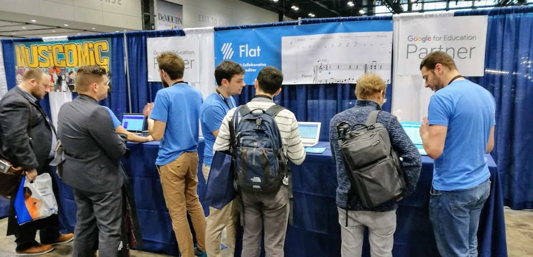 Flat at Midwest Clinic