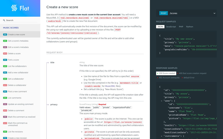 Flat Platform - Open API