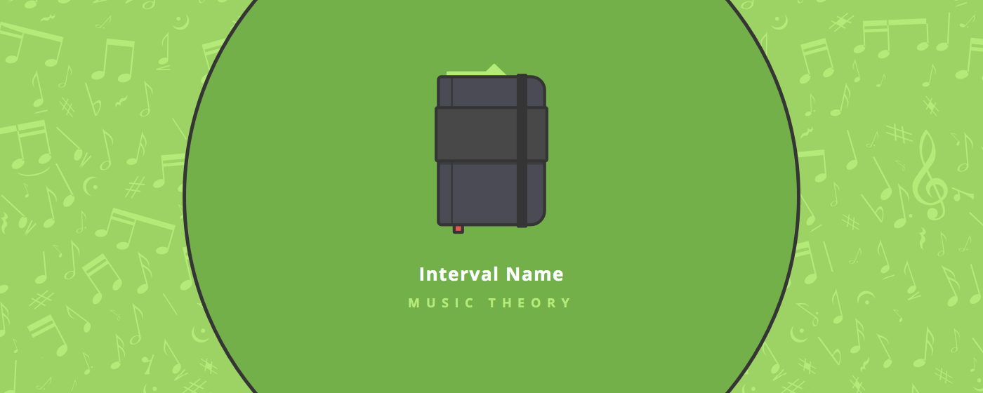Music theory :  Interval names