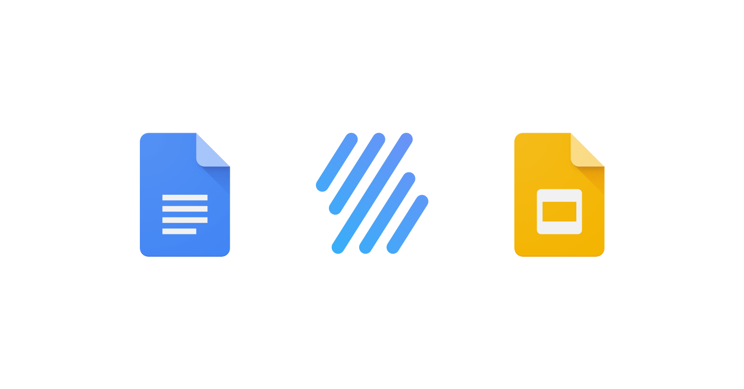 Easily insert music notation in your Google Docs & Slides