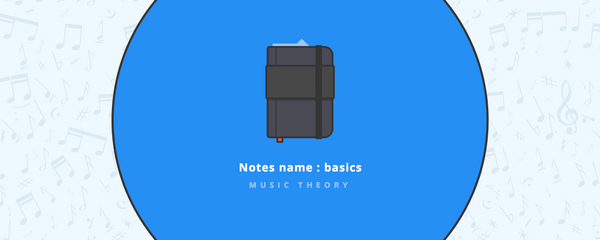 Music Theory: Notes name basics