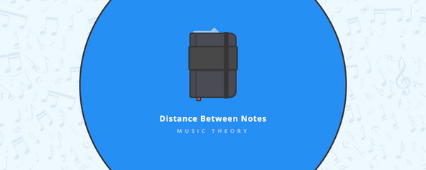 Music theory : Distance between notes
