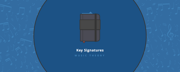 Music theory : key signatures 1-4