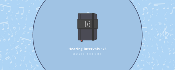 Music theory : Hearing intervals part 1/6