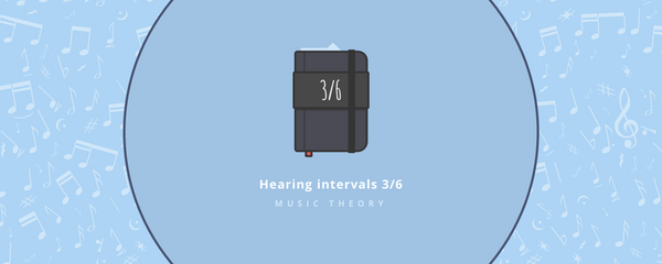 Music theory : Hearing intervals part 3/6