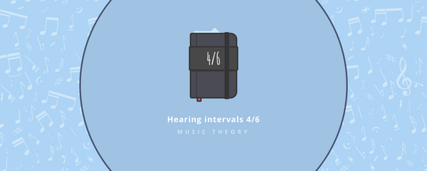 Music theory : Hearing intervals part 4/6