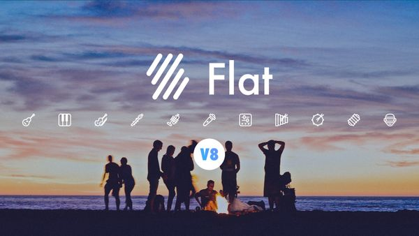 Flat V8 is now live