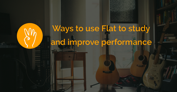 Four ways to use Flat.io to study and improve performance