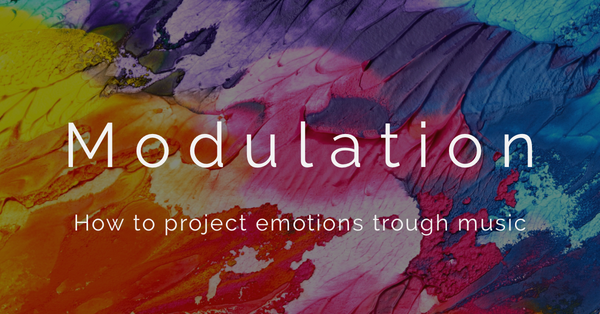 How to project emotions through music: modulation